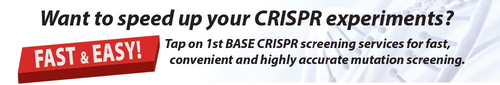 Want to speed up your CRISPR experiments?
